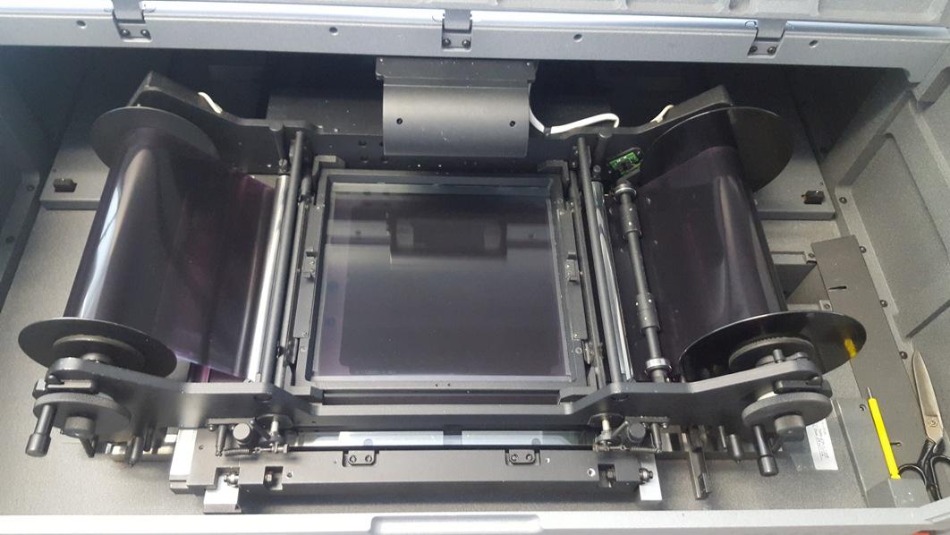 Wehrli Film Scanner RM5 roller sm